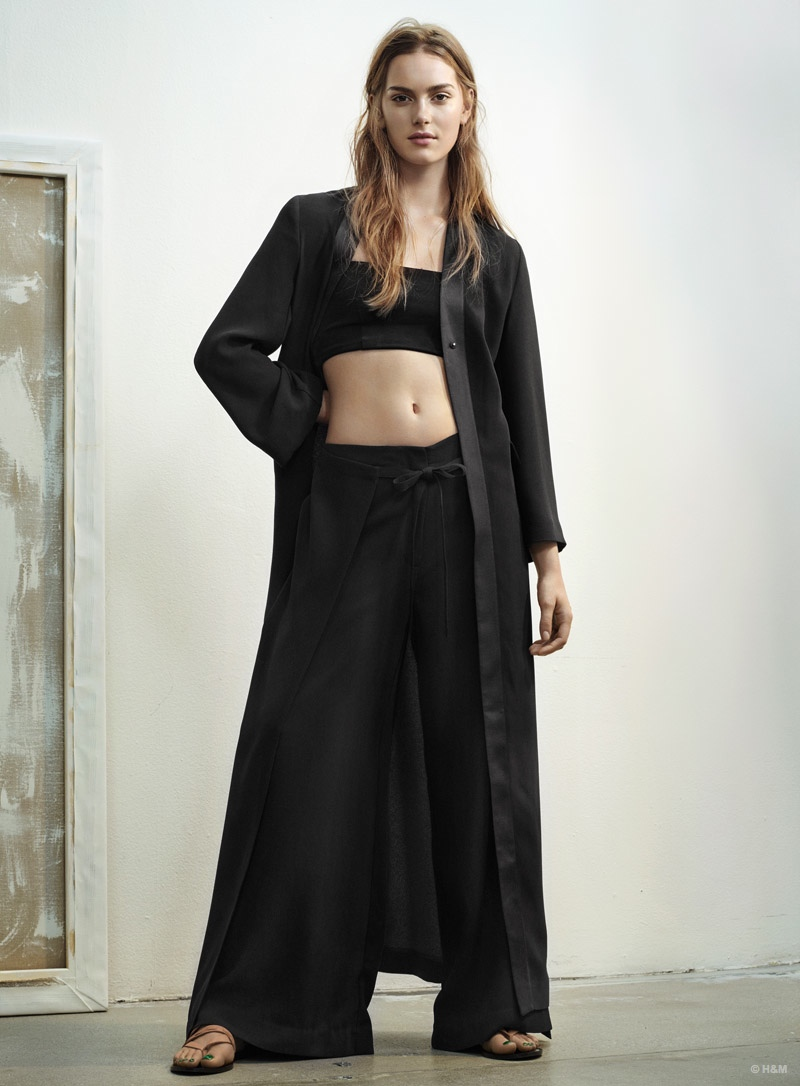 H & M: The Lookbook Of The Spring-Summer 2015