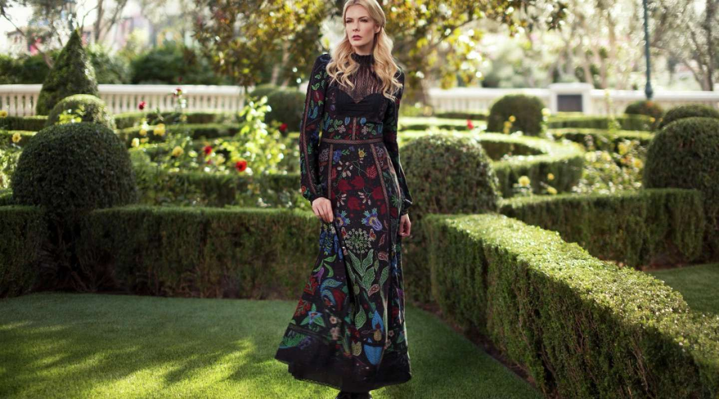 Valentino In New York Presents Its Collection Of High Fashion