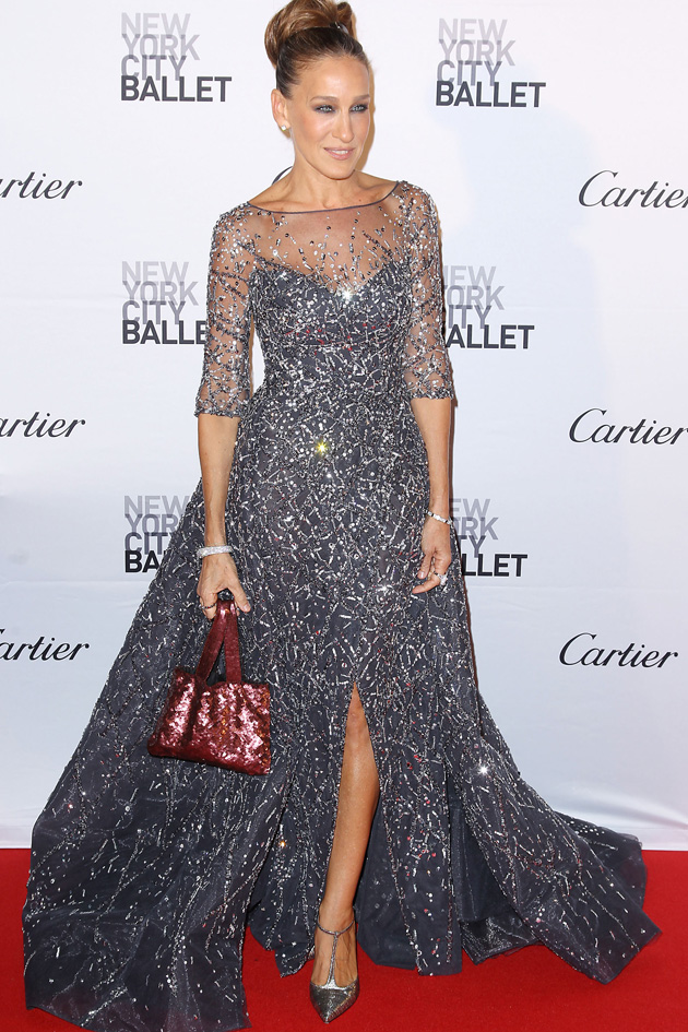 Sarah Jessica Parker returned to pick the most spectacular dress for Ballet Gala in New York