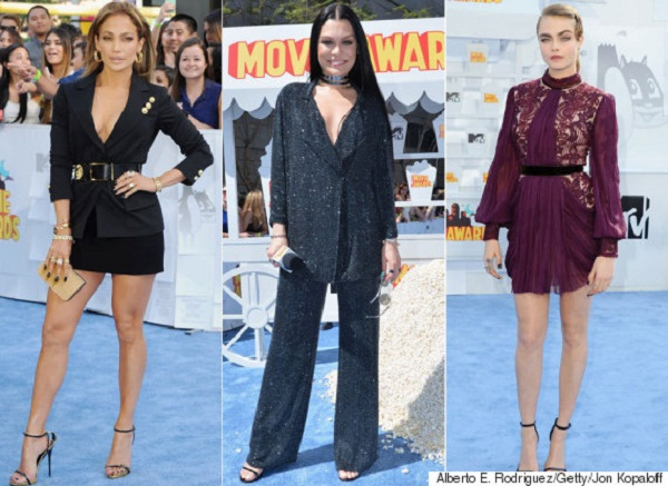 The Red Carped To Scream At The MTV Movie Awards 2015