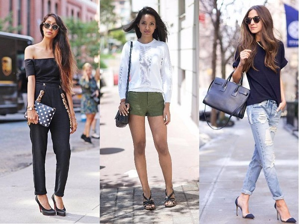 Jeans Street Style Protagonists Of The Outfits Of Models
