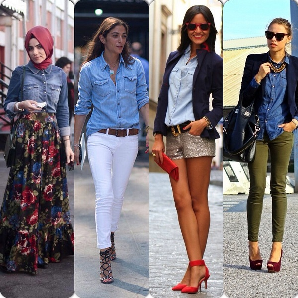 How To Wear Denim Shirt
