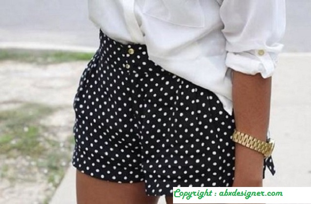 Shorts And Dots