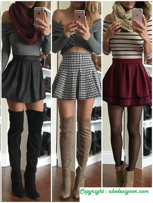 With Skirts ...