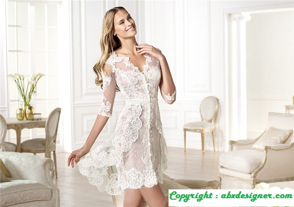 10 Short Wedding Dresses