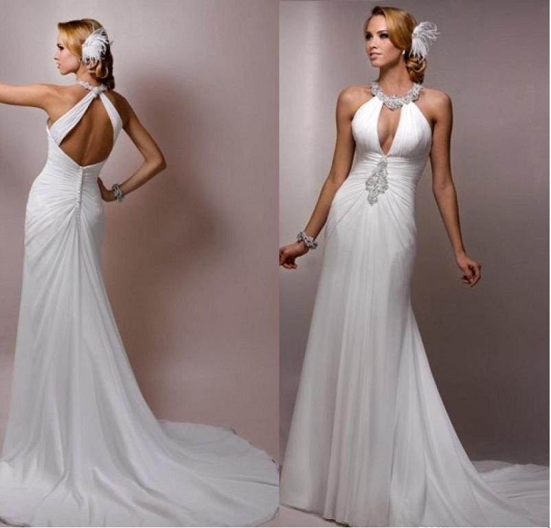 Options For Sleeveless Wedding Dress