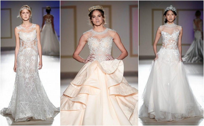 The Wedding Dress For 2018,Romantic And Sensual
