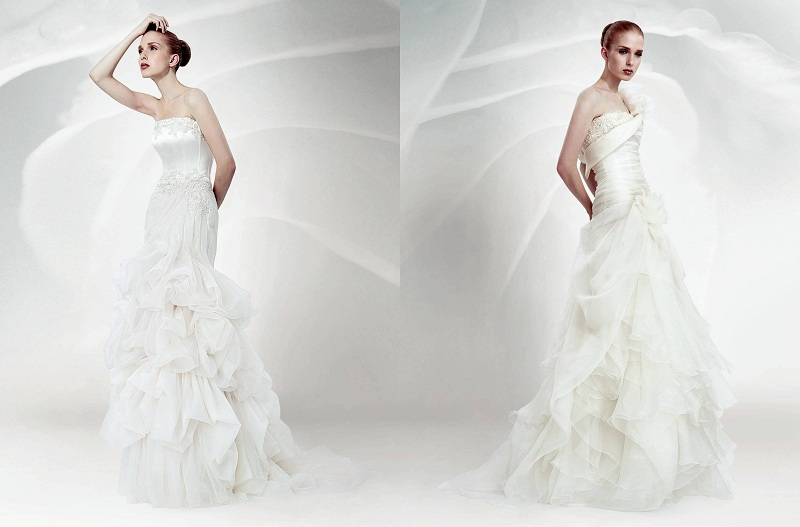 The Wedding Dress For 2018, Romantic And Sensual