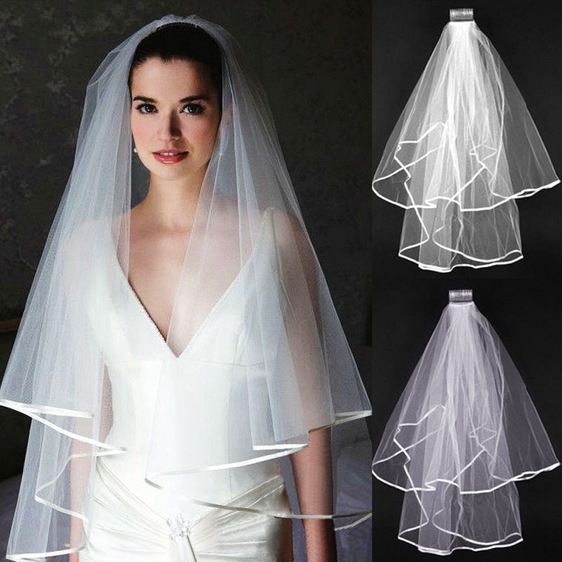 How To Choose The Veil For A Wedding Dress?
