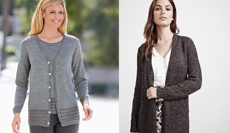 Female Cardigan For The Spring Season.