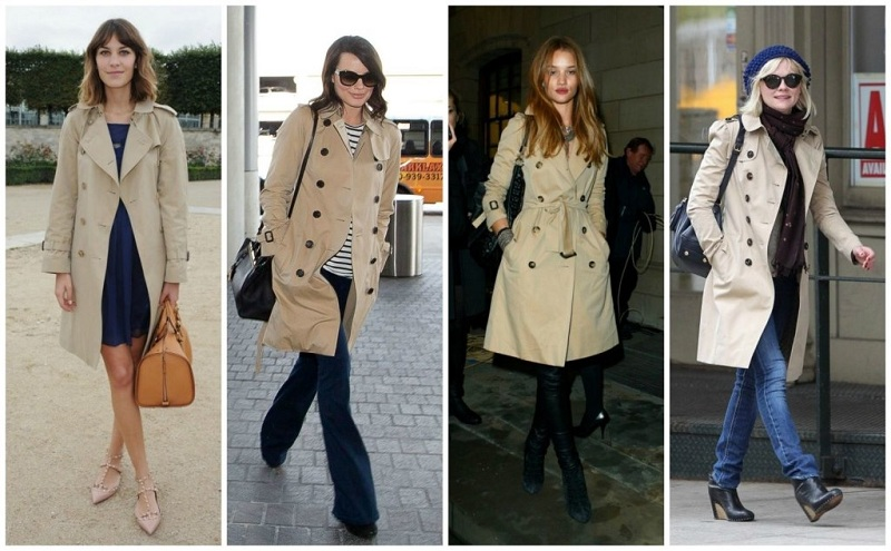 What To Wear With A Classic Beige Trench Coat?