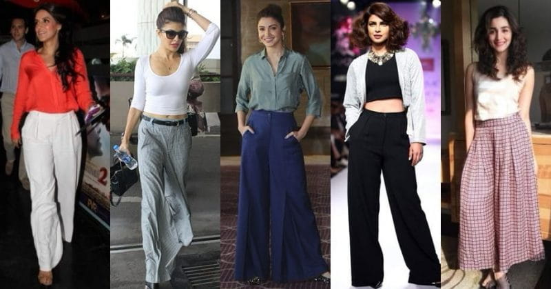 Wide Trousers In Women's Wardrobe