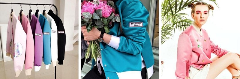 Bomber Jacket In The Female Wardrobe