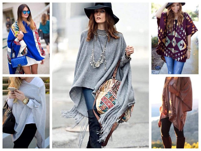 How To Wear A Poncho?