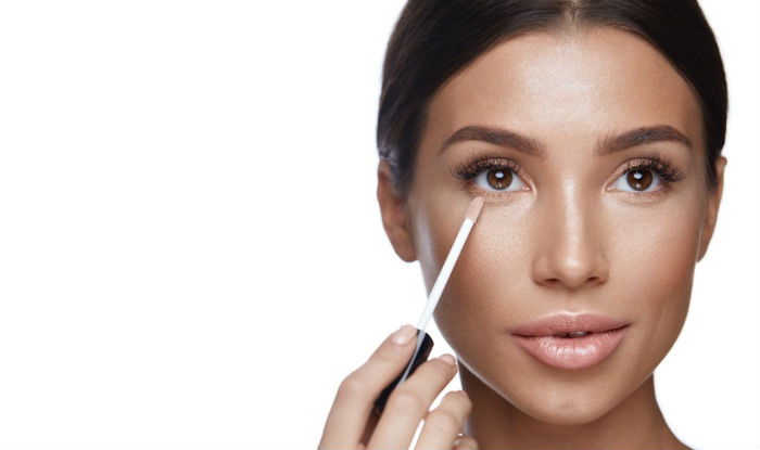 easy steps to apply concealer