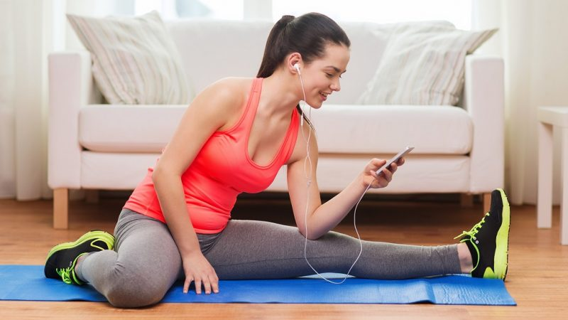 4 Ways To Get Fit at Home